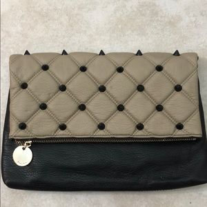 Deux Lux Quilted Leather Clutch